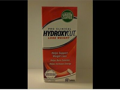 Hydroxycut Pro Clinical Lose Weight 60 Tablets Caplets