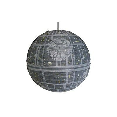 Groovy gr90424 Star Wars Death Black Cover Ceiling Lamp of Paper, Paper, Grey, 3