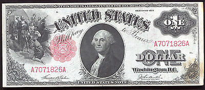 Fr. 36 1917 $1 One Dollar Legal Tender United States Note Uncirculated