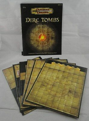 Dungeons & Dragons Dungeon Tiles Dire Tombs WTC21711 DT6 D&D AD&D
