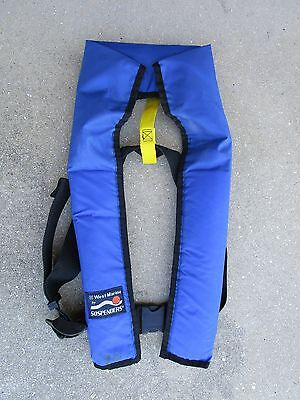 Marine-Boating-Sailing-West Marine SOSPENDERS Inflatable PFD-NICE CONDITION