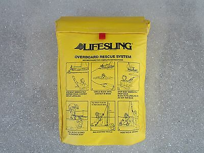 Marine-Boating-Sailing-Safety-LifeSling-Throwable PFD-EXCELLENT CONDITION