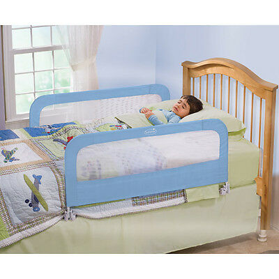 Brand New Summer Infant Double Safety Bedrail, blue