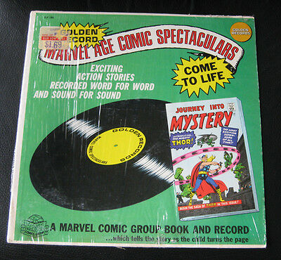 Silver Age Marvel Journey Into Mystery 83 Golden Records Vinyl Record (No Comic)
