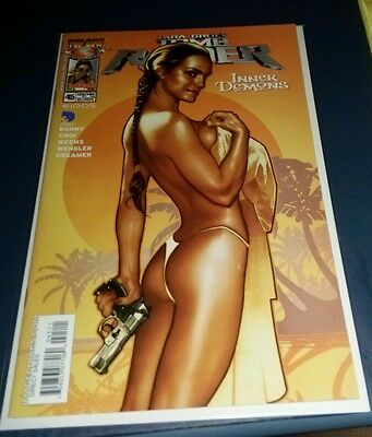 Top cow 2004 tomb raider gathering storm 45 Adam Hughes pin up NM EBAS