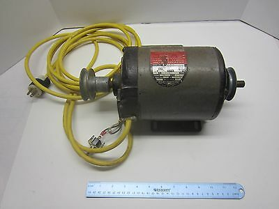 """Rockwell Delta Dual Shaft Motor 1 HP 3450 RPM 1 PH 5/8"""" Shafts with 12' cord"""