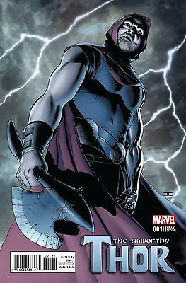 The Unworthy Thor #1 John Cassaday Variant 1:25 Edition Cover Hot!