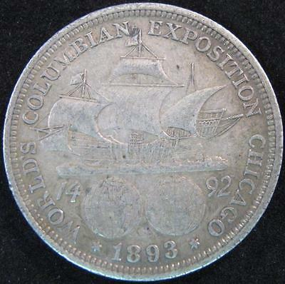 G2178 - 1892 - Us - World's Columbian Expostion Chicago Silver Coin - Nr