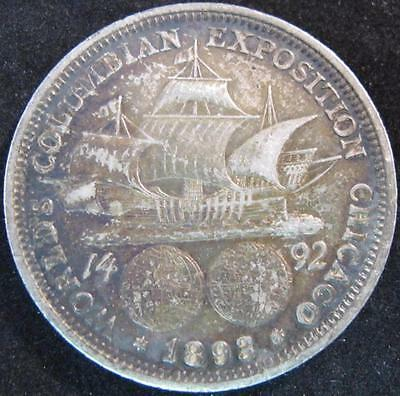 G2179 - 1892 - Us - World's Columbian Expostion Chicago Silver Coin - Nr