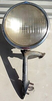 1932 Buick Guide GM Head Light Lamp Assembly & Stanchion