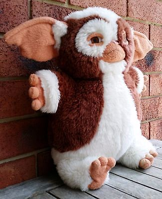 VINTAGE RETRO GIZMO FROM GREMLINS 1980s ORIGINAL LARGE PLUSH COLLECTABLE GIZZMO