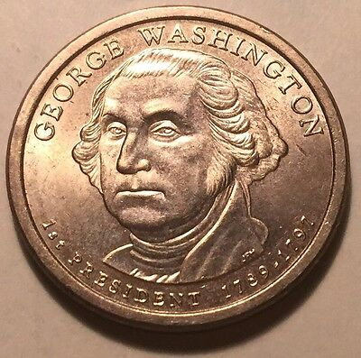 United States - 2007 George Washington Presidential One Dollar Coin