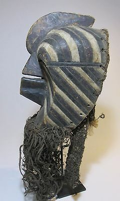 Old Songye Kifwebe Society Dance mask , African Tribal Art