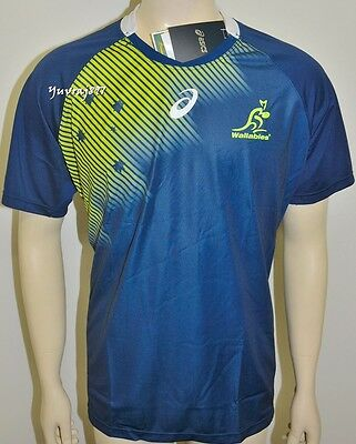 BNWT - Wallabies 2015 Men's Replica Training Jersey - Size: Medium   RRP.: $150