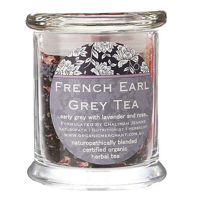 NEW Organic Merchant French Earl Grey Tea Jar