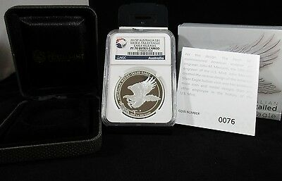 2015 Australia Wedge-Tail Eagle Early Release Proof Ngc Pf70 Uc