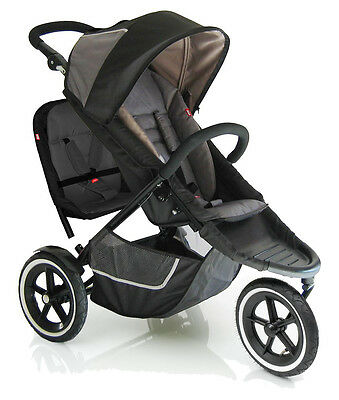 phil&teds E3 - Black/Charcoal Stroller