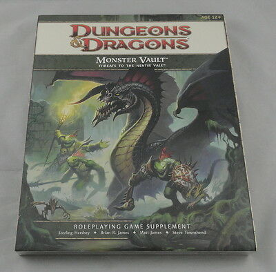 Dungeons & Dragons 4th Ed Monster Vault Threats to the Nentir Vale  D&D WTC28364