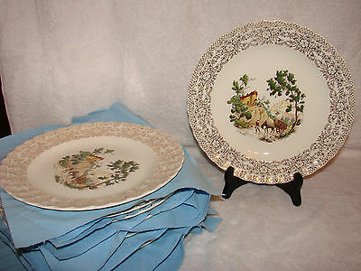"American Limoges Chateau France Dinner Plate 10"" Mint NOS Dinnerware"