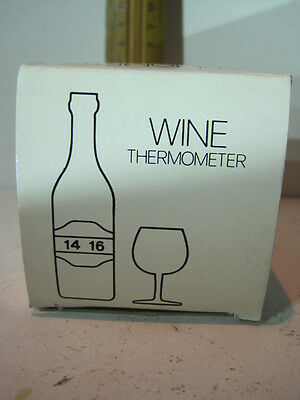 Wine Thermometer - check the correct temperature to enjoy your wine