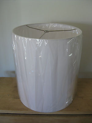 West Elm Large White LAMP SHADE for light in NEW CONDITION