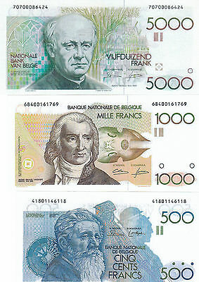 Reproduktion//replicas--Lot Belgie--5000.1000.100---Unc
