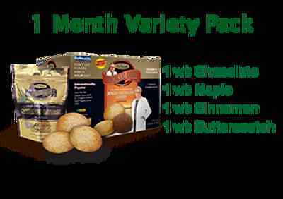 New Dr. Siegal's COOKIE DIET - 1 Month Variety Pack
