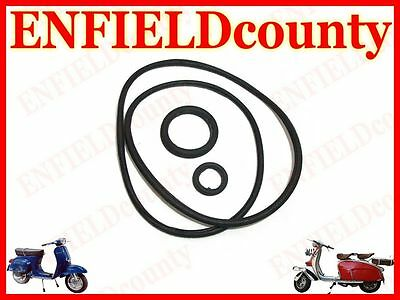 Brand New Vespa Engine Case O Ring Kit Of 3 Rings Px Pe T5 Rally Lml @cad