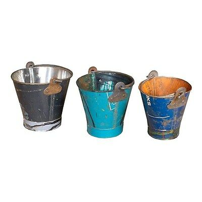 Silkroute PL1534  Iron Bucket Set of 3