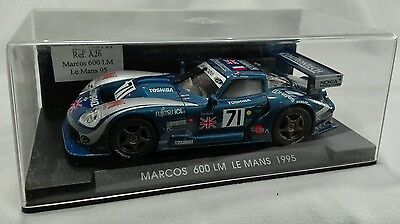"FLY Slot Ref.A26 MARCOS 600 LM ""Le Mans 1995"" 1/32"