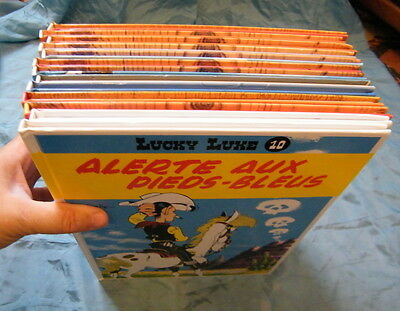 Lot de 13 BD Lucky Luke et divers Rantanplan de collection ,n°45