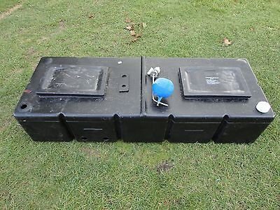"""Polytank Feed and Expansion Cistern Tank 55"""" x 20"""" x 12"""" Lidded"""