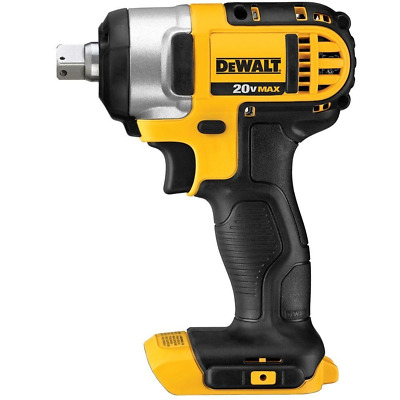 """DEWALT DCF880B 20V MAX Lithium Ion 1/2"""" Impact Wrench with Detent Pin (Bare Tool"""