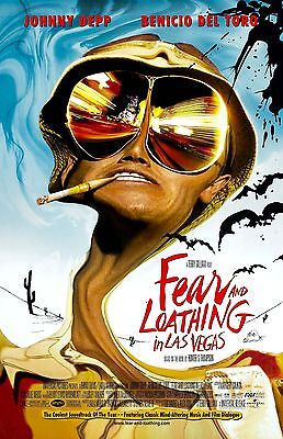 FEAR AND LOATHING IN LAS VEGAS 11x17 Movie Poster collectible