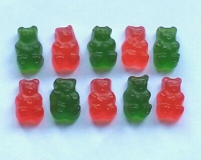 CHRISTMAS GUMMY BEAR MIX 400g ��- Red & Green American candy -