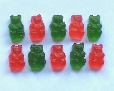 CHRISTMAS GUMMY BEAR MIX 800g ��- Red & Green American candy -