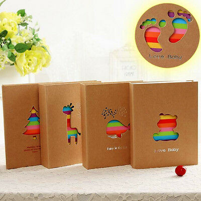 6inch 100 Pockets Cartoon Memo Photo Picture Storage Album Case for Kid Children