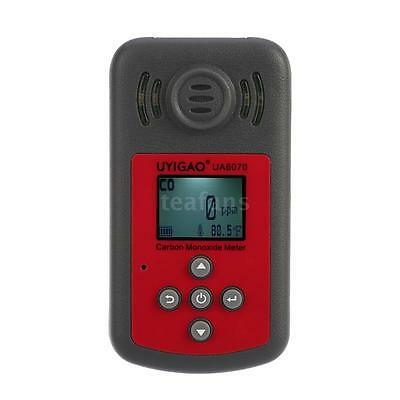 UYIGAO Portable Carbon Monoxide Meter CO Gas Detector LCD Display 2000ppm G9R0