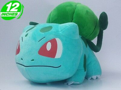 "12"" Bulbasaur New Pokemon Center Plush Doll Stuffed Soft Toy Figure New Gift"