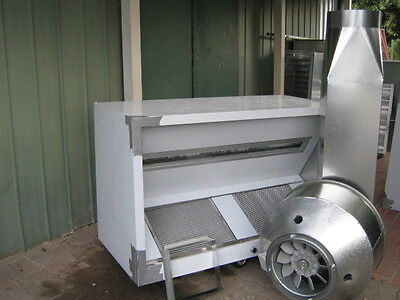 CANOPY1.5mt S/STEEL,COMMERCIAL RANGE HOOD EXHAUST  PACKAGE ALL AUSTRALIAN MADE