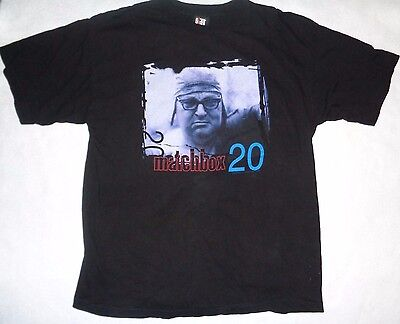 """VTG 90's Matchbox 20 """"Yourself or Someone Like You"""" Size L Excellent Condition!"""