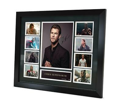 Chris Hemsworth Signed Photo Movie Memorabilia Limited Edition of 250 FRAMED