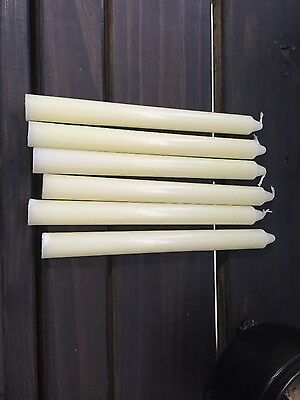 19.5cm ivory taper candles - Wicca, paga, witchcraft