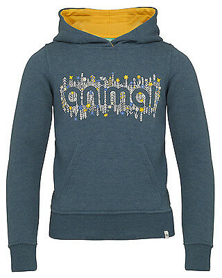Animal Mollie Mai  Girls Hoody in Blue - On Sale Now