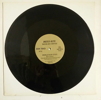 """Depeche Mode World In My Eyes Maxisingle 12"""" USA For Pro Dee-Jays Only"""