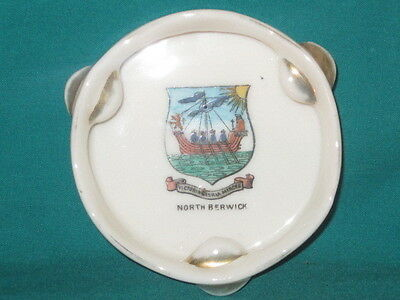 Gemma China Tambourine - NORTH BERWICK crest
