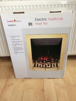 Home Flame Electric Traditional Inset Fire