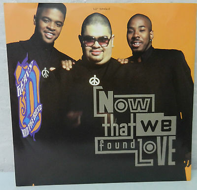 """HEAVY D AND THE BOYZ  Now That We Found Love 12"""" Vinyl"""