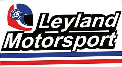 Leyland Motorsport Banner Sign P76 Marina Mini Jaguar Triumph Austin MG
