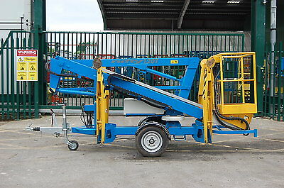 Niftylift 120T NDE Trailer Mounted Cherry Picker - Access Platform Boom Lift